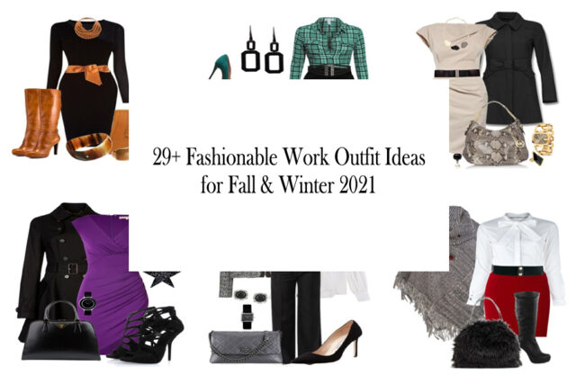 Fashionable Work Outfit Ideas for Fall - Winter 2021 Cover